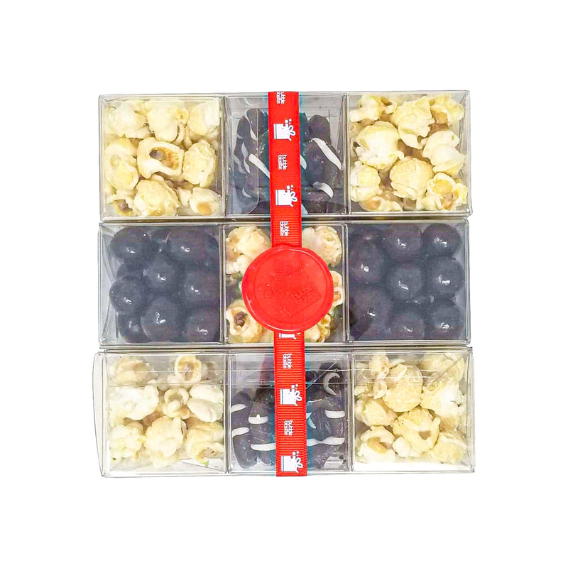 Popcorn and Chocolate 9 Piece Sweet Set