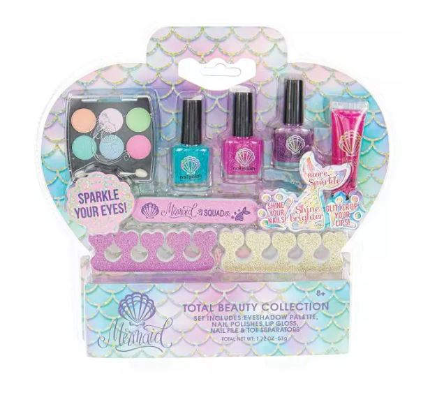 Total Beauty Mermaid Collection Makeup Set
