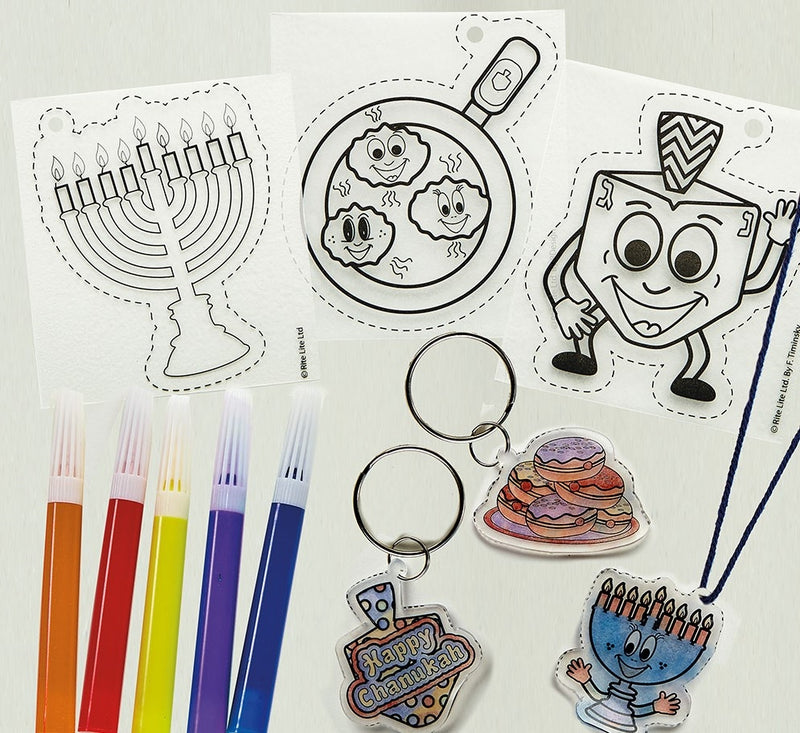 Chanukah Shrink Art