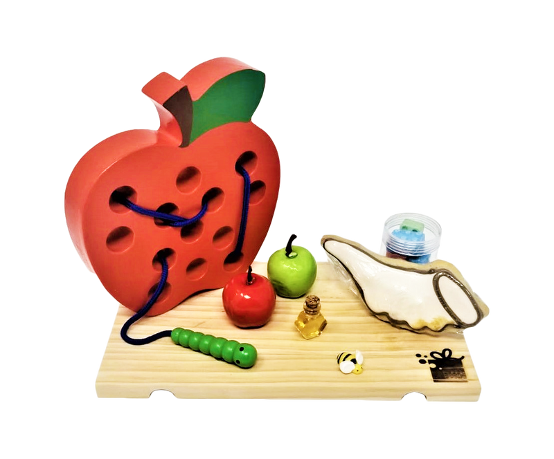 Apple Game and Cookie Gift Set