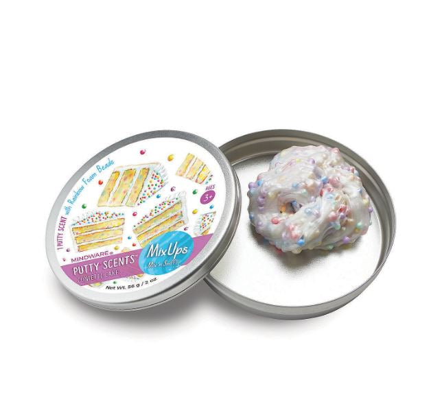 Confetti Cake Scented Putty