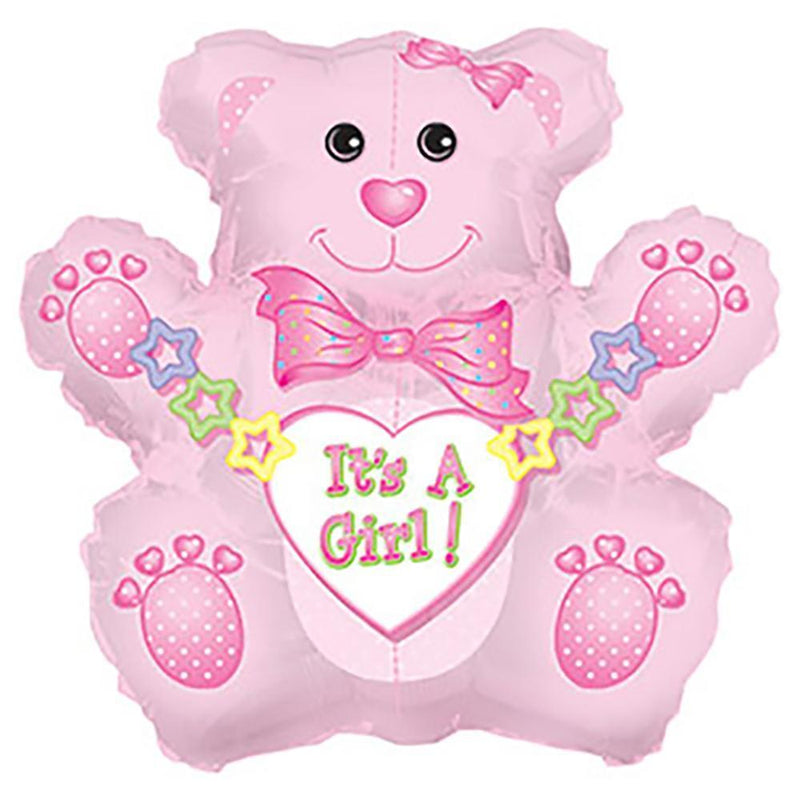 "31"" Jumbo It's a Girl! Bear Balloon"