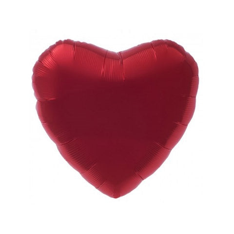 "18"" Red Heart Balloon"