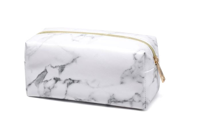 Marbled Cosmetic Bag