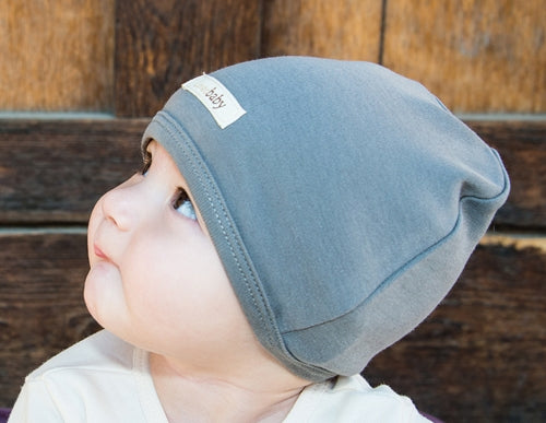 L'oved Baby Stretchie- Gray & Beige 0-3