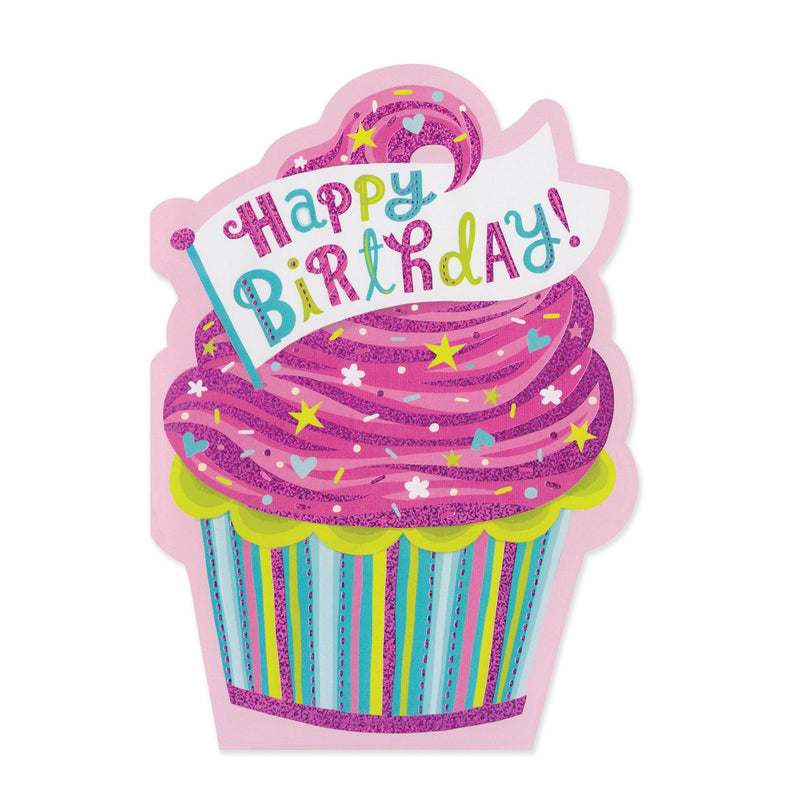 Happy Birthday! It's Your Day Sweet Cupcake Card