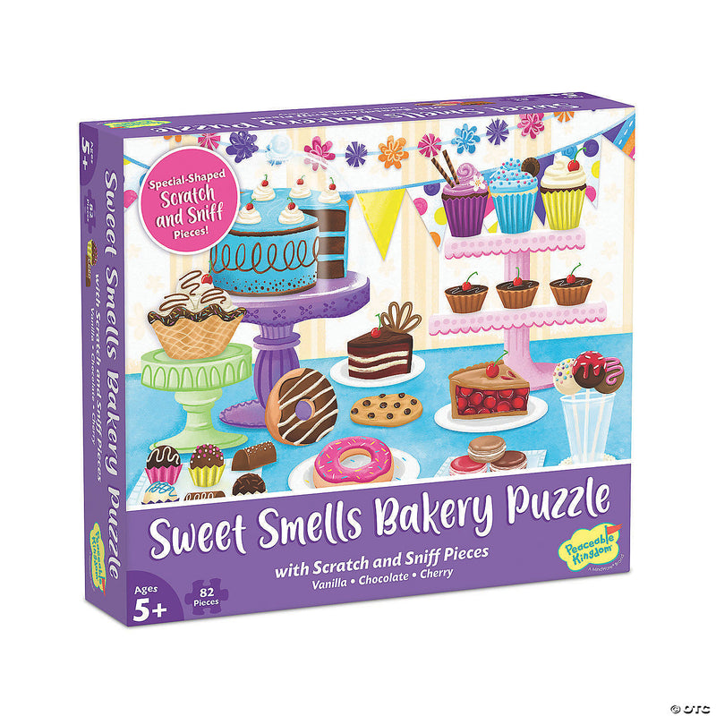 Scratch and Sniff Puzzle: Sweet Smells Bakery