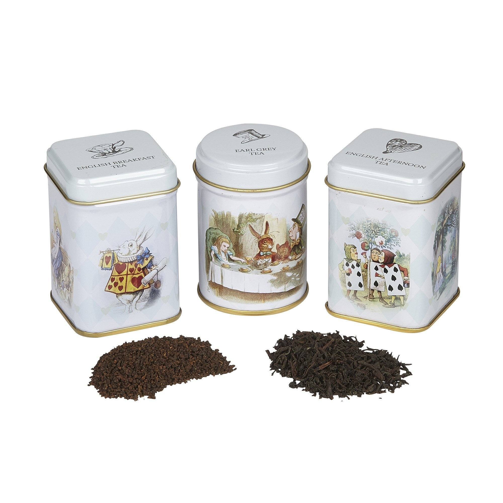 Alice in Wonderland Mini Tin with Loose Tea