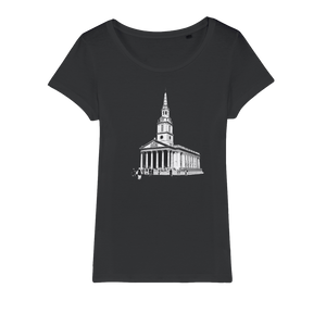 Open image in slideshow, St Martin's Organic Jersey Womens T-Shirt