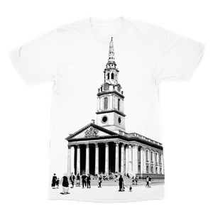 Open image in slideshow, St Martin's Premium Sublimation Adult T-Shirt