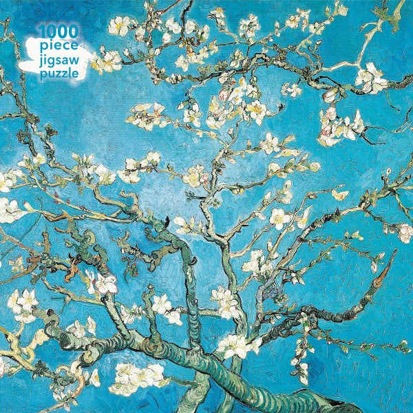 Almond Blossom by Vincent Van Gogh 1000 piece jigsaw puzzle