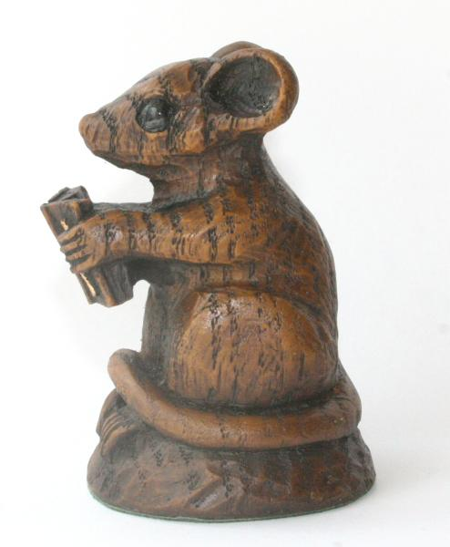 Church Mouse with Bible