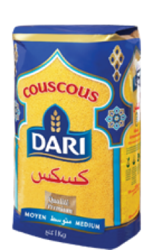 Couscous Dari 1Kg - Medium Reis