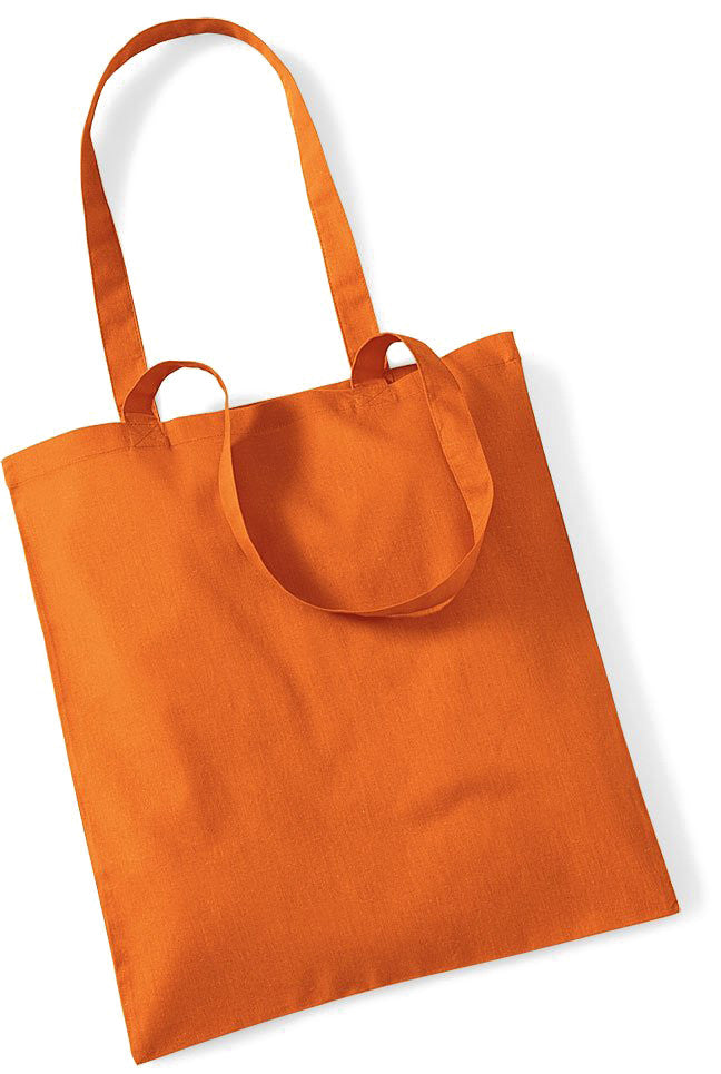 Stofftasche orange