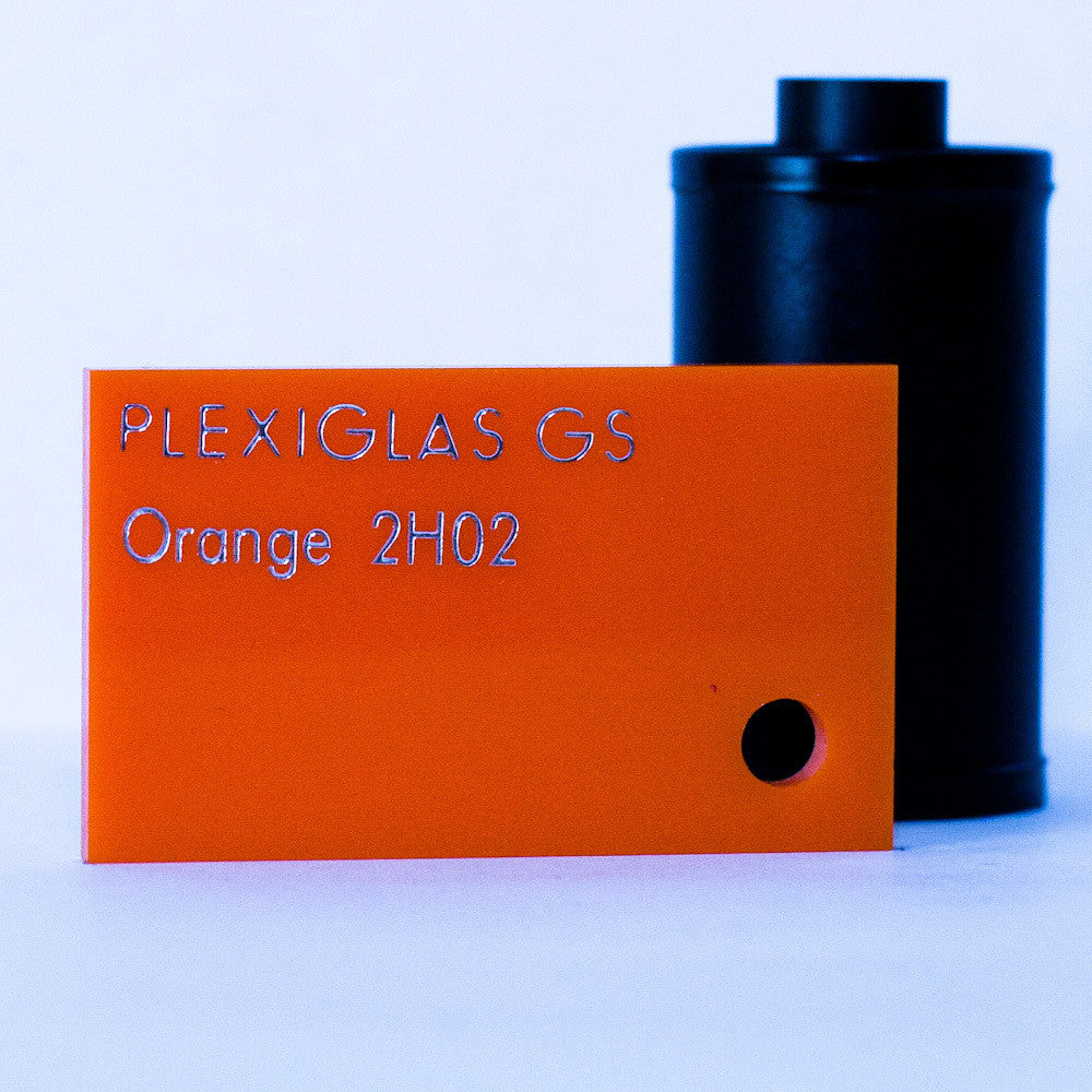 Plexiglas GS 3mm Orange 2H02