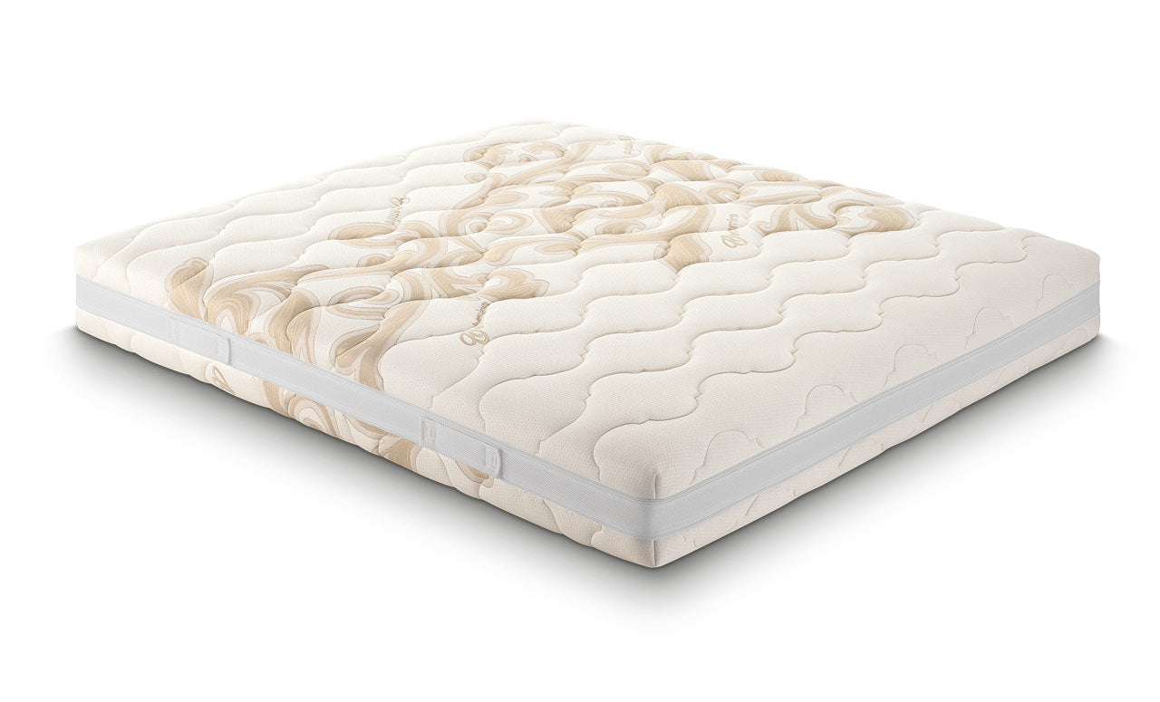 Materasso Fysioform S4, in memory foam, dispositivo medico, rivestimento in cachemire sfoderabile - Gaidra HOME