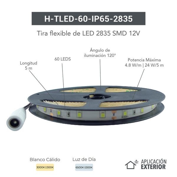 H-TLED-60-IP65-2835