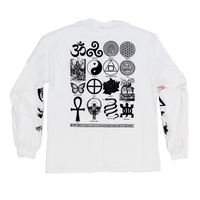 SYMBOLS OF CHANGE SHIRT - WHITE