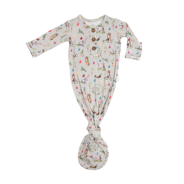 Baby Knotted Gown - Arley