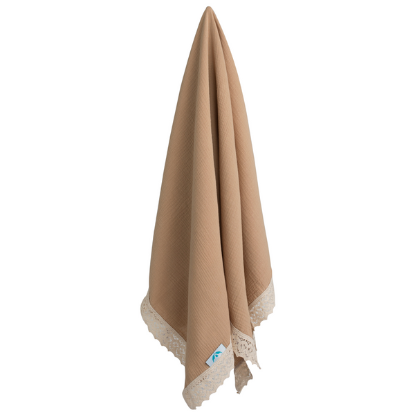 Heirloom Swaddle - Hazelnut
