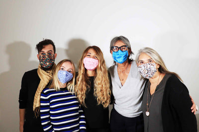DESIGN TRENDS - On Face Masks Patterns <br>by Cristina Morozzi