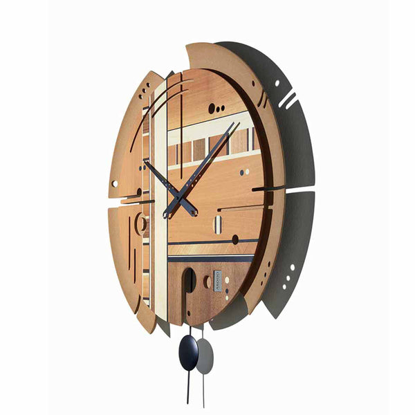 Wall Clock Samada Natural Design Italy