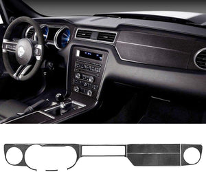 6 PCS Full Dashboard Trim For Ford Mustang 2010-2014