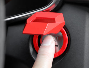 Engine Push Start Stop Button Ignition Trim Cover For all Vehicles