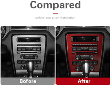 Load image into Gallery viewer, Carbon Fiber Navigation Multimedia Dash Trim For Ford Mustang Premium or Base  2010-2014