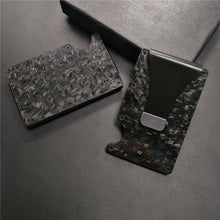 Load image into Gallery viewer, Real Forged Carbon Fiber Wallet RFID