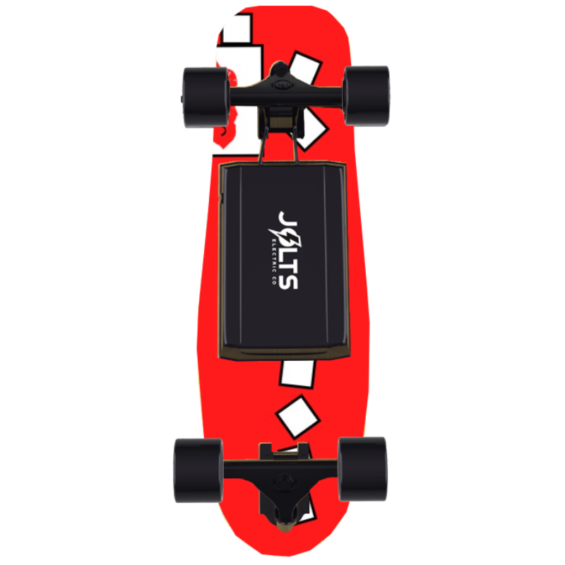 Falling Blocks - Electric Skateboard