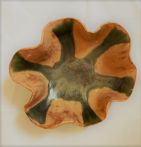Green Scallop Pottery