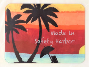 Safety Harbor Sunset-Cutting Board