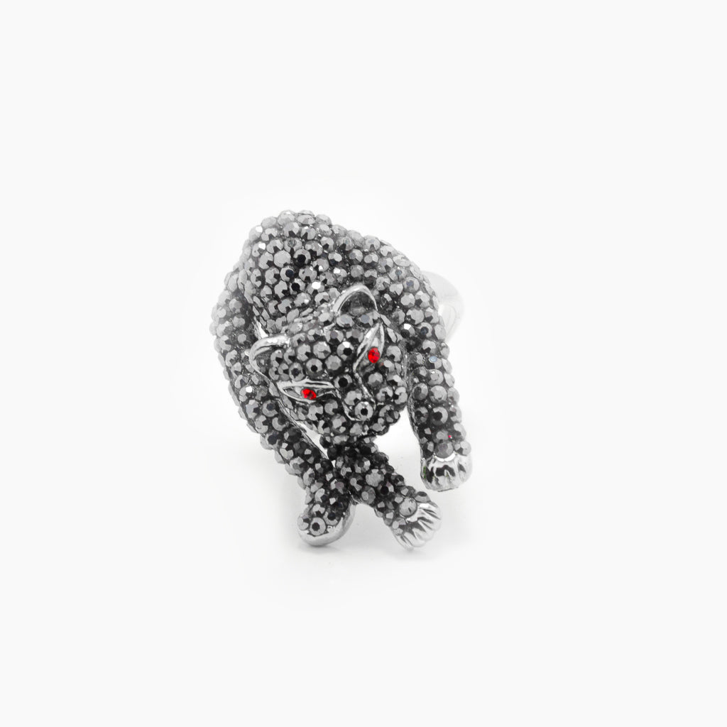 Black Panther Jungle Ring