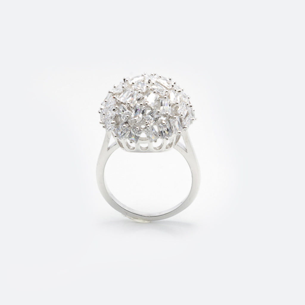 Margot Classic Ring Silver