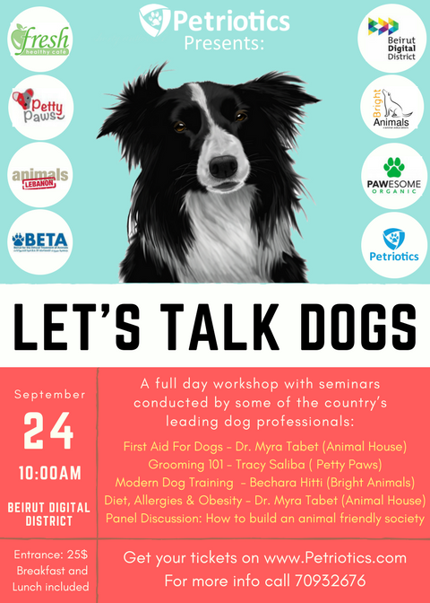 7 Reasons You Should Attend The 'Let's Talk Dogs' Event