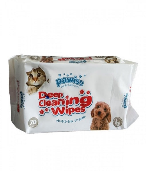 Pawise- cleaning wipes
