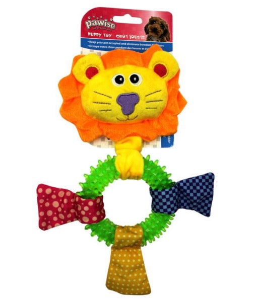 Pawise- Puppy Toy Lion Ring