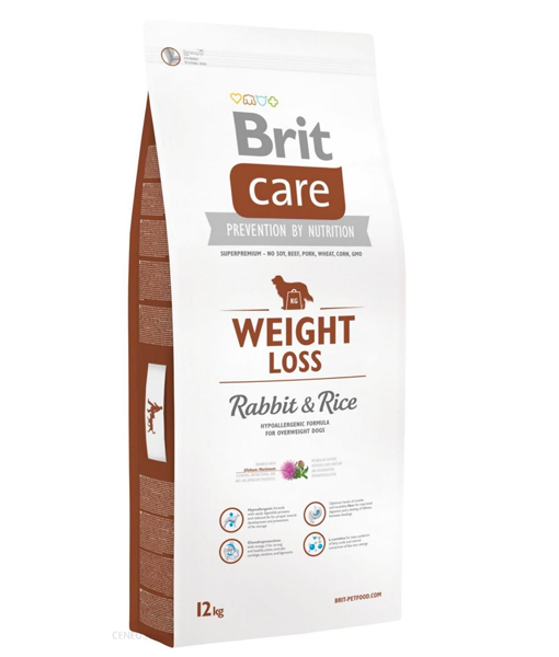 Brit Care - Weight Loss Rabbit & Rice 12kg