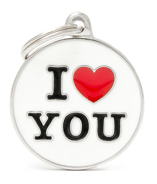 ID Tag - I love You
