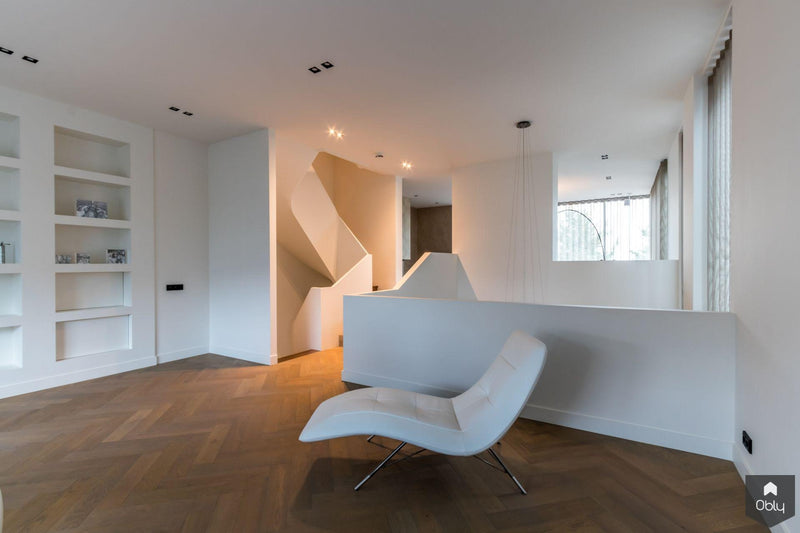 5 exclusieve wenteltrappen in één woning-Van Bruchem Staircases-alle, Entree hal trap-OBLY
