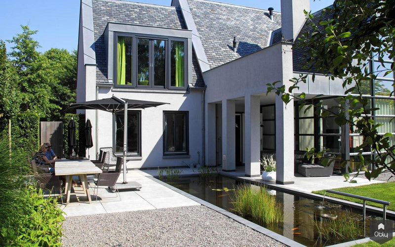 Moderne tuinarchitectuur in luxe tuin-Stoop Tuinen-alle, Tuinen-OBLY