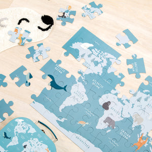 ENDANGERED ANIMALS PUZZLE