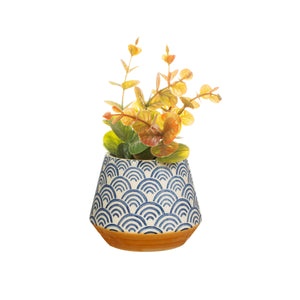 BLUE WAVE PLANTER SMALL