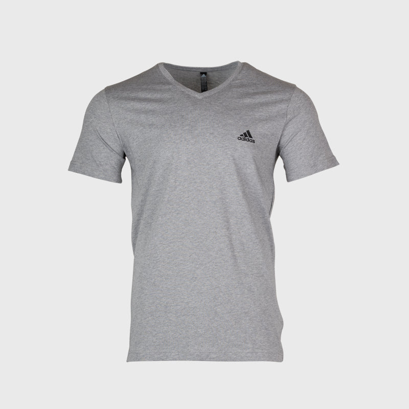 V Neck Tshirt _ 166386 _ Grey