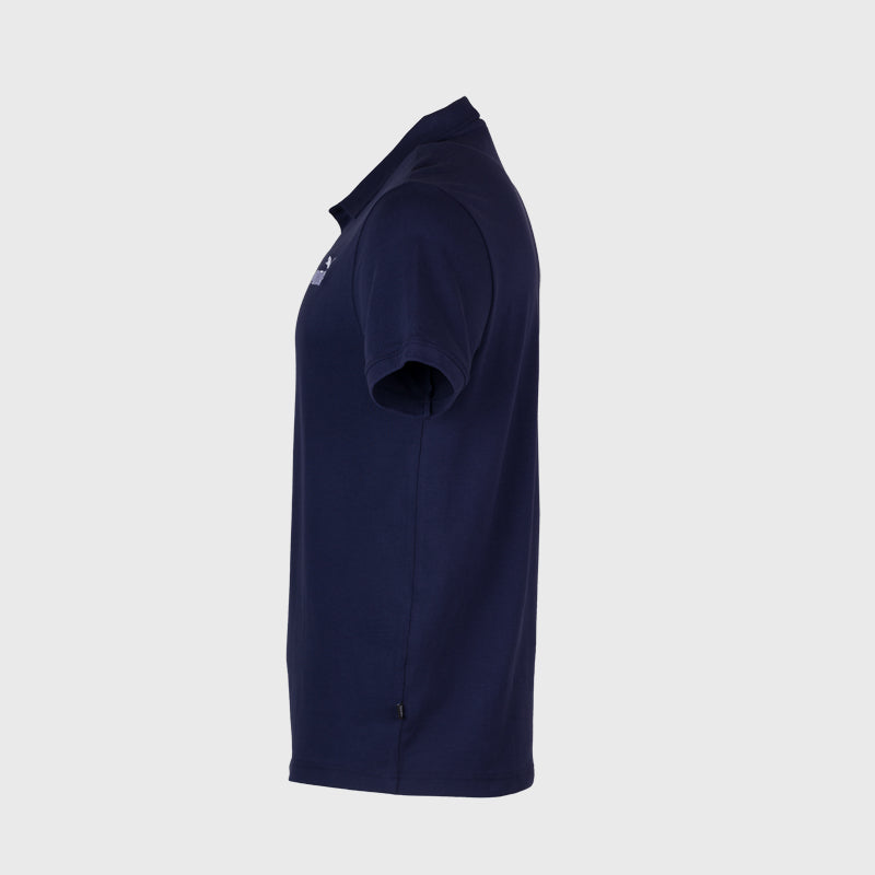 Essential Pique Polo _ 166448 _ Blue