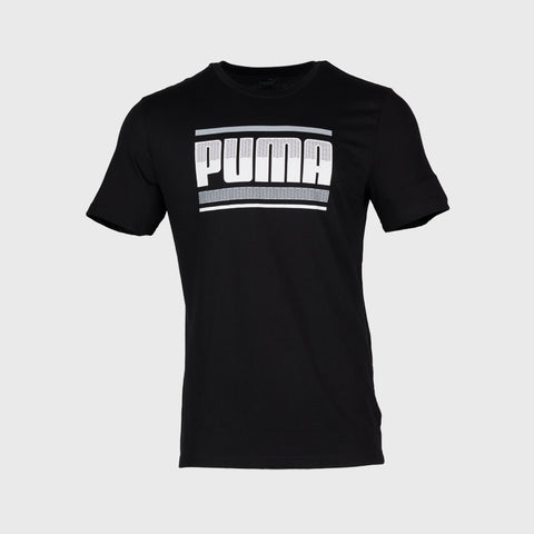 Puma Graphic Tshirt _ 166457 _ Black