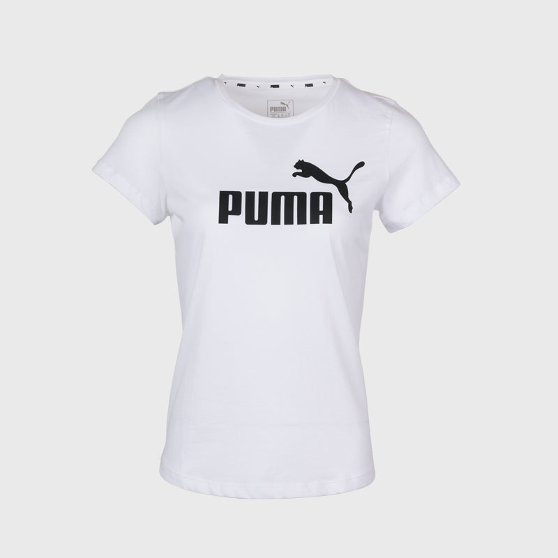 Essential 2 Colour Logo Tshirt _ 166460 _ White