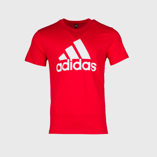 Adidas Badge Of Sport T-Shirt _ 167589 _ Red