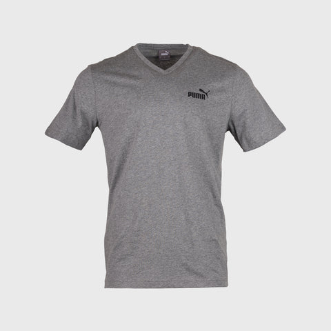V Neck Tshirt _ 167595 _ Grey